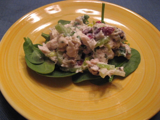 Embrace Your Chicken, Part 2: Cranberry-Walnut Chicken Salad | Heidi ...