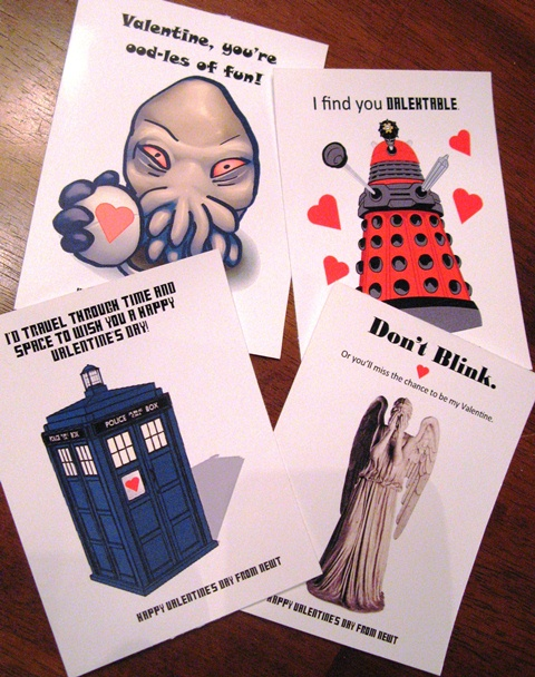 doctor who free printable valentines one velvet morning