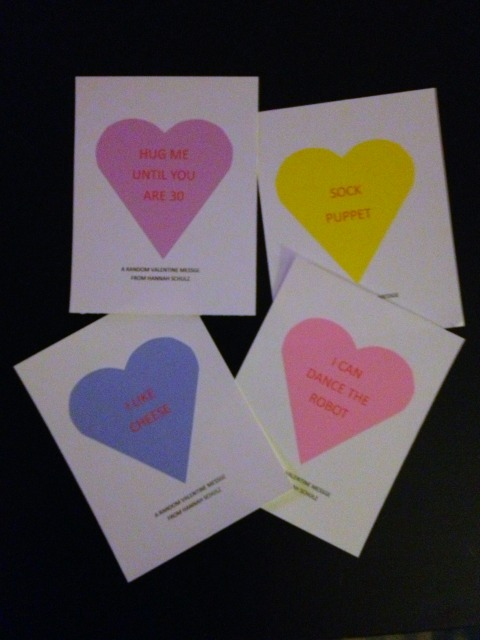 random valentines